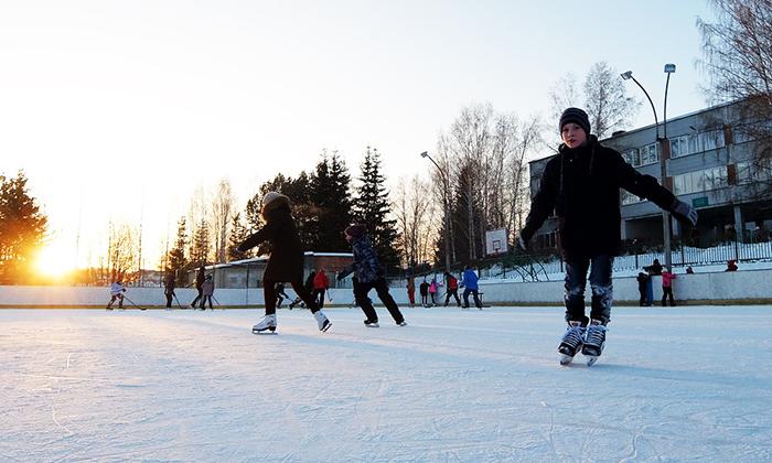 Парк Кольцово, Новосибирск. Фото, цена беседки, горнолыжка