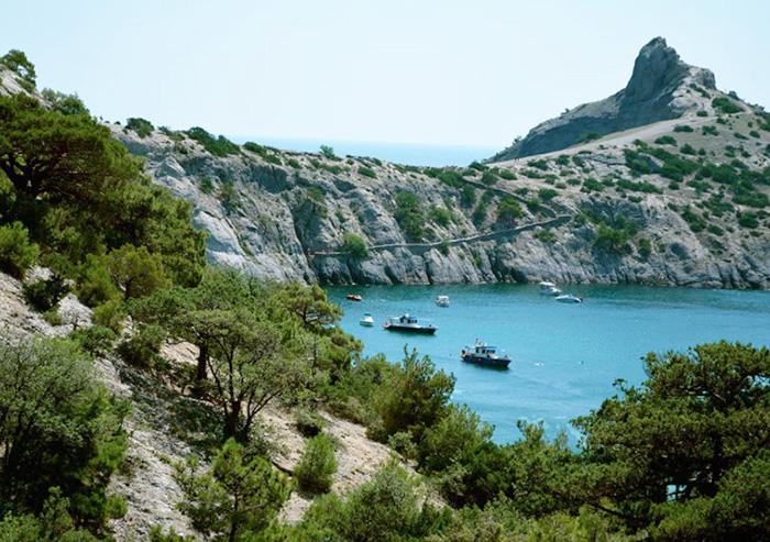 Голубая бухта, Геленджик. Отзывы, пляж, фото