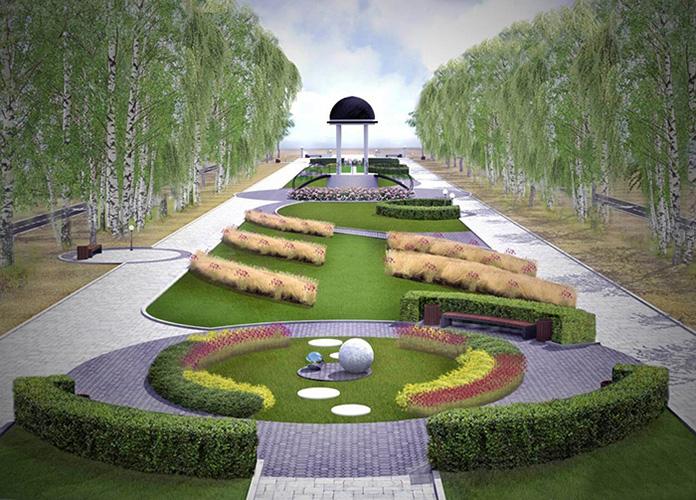 Сад будущего, Ботанический сад, Москва. Фото, схема