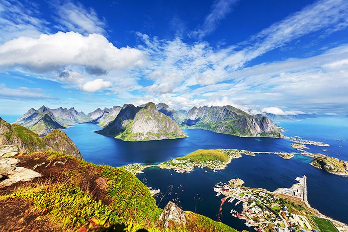 Страны Скандинавии на карте мира. Список, столицы