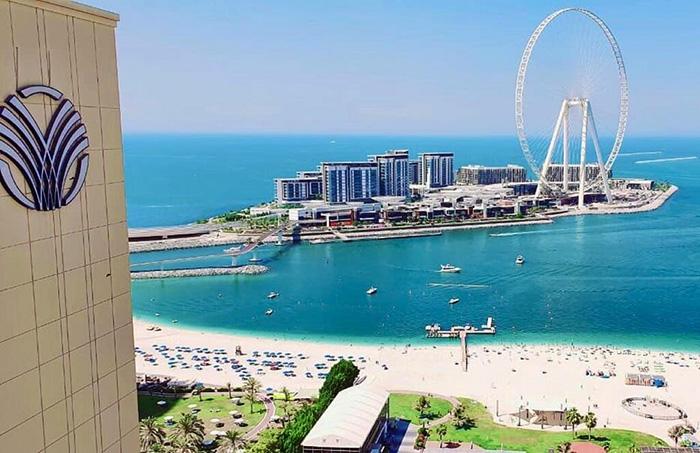 Amwaj Rotana Jumeirah Beach Residence 5 ОАЭ, Дубай
