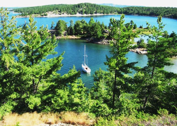 Озеро Гурон. Где находится на карте, координаты, площадь, фото