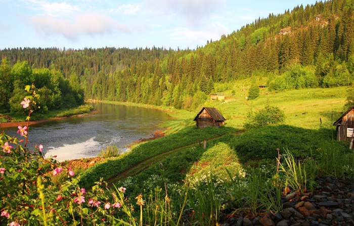 Природа Пермского края. Фото летом, зима, осень